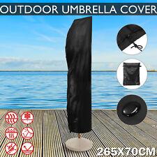 Patio Cantilever Banana Umbrella Protective Cover Outdoor Parasol Protection