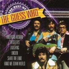 GUESS Who Best of (18 tracks, 2001, FNM) CD []