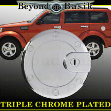 Chrome Fuel Gas Door Cover Cap Trim Overlay 2007-2012 Dodge Nitro