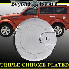 DODGE NITRO Chrome Fuel Gas Door Cover Cap Trim Overlay SLT 2007-2012