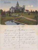 Ansichtskarte Recklinghausen Anlage am Rathaus 1916