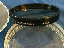 Minolta Circular Polarizing Filter, 55mm Japan, Polarizer Lens Camera Orig Case