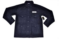 Men's UNDEFEATED U50 Jacket Wool Blend Black size XL (T118) $132