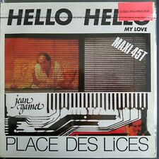 """Jean Gamet – Hello Hello My Love / Place Des Lices (Vinyl,12"""",Maxi 33 Tours)"""