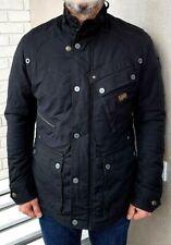G Star Raw Men's £209rrp New Sandhurst Padded Black Jacket Size Medium #4690