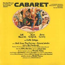 CABARET - JILL HAWORTH / JACK GIFFORD / LOTTE LENYA / JOEL GREY - SOUNDTRACK CD