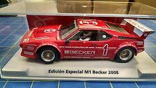 Fly 99119 BMW M1 Special Edition Becker 2008 1/32 Slot Car Mid America