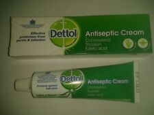 Dettol Antiseptic Cream.30g.Protects against Germs and infection.1st class today