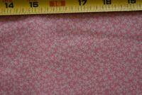By 1/2 Yd, Vintage, Pink Calico on Cream Quilt Cotton, Concord/Kessler, P440