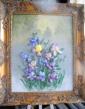 silk ribbon embroidery 'Misty morning'