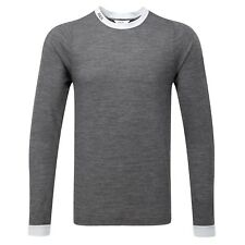 Knox Jacob Motorcycle Bike Base Layer T Shirt Long Sleeve Winter Dark Grey XXXL