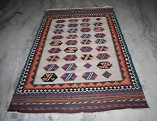 Turkish Traditional Area Rug Fine Wool Vintage Carpet Size 236x147 Cm DN-743