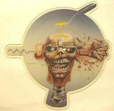 "IRON MAIDEN ""CAN I PLAY WITH MADNESS"" - 7"" SINGLE PICTURE DISC SHAPE"