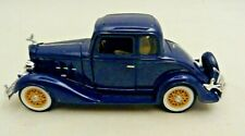 1933 CHEVROLET TWO PASSENGER FIVE WINDOW COUPE  1:32 DIE CAST MODEL CAR