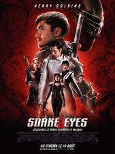 Snake eyes  -  Affiche cinema 40X60 - 120x160 Movie Poster
