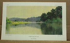 North Frankfort-Kentucky Artist Paul Sawyier-River scene