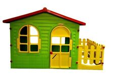 Spielhaus mit Terrasse Kinderhaus Kinderspielhaus Kinder Haus Gartenhaus.