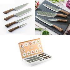 """""""Namiutsu"""" Messer-Set 4-teilig Edelstahl Koch-Filetier-Gemüse-Universalmesser"""