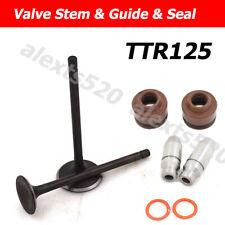 Intake Exhaust Valve Stem Guide Valve Seal For YAMAHA TTR125 TT-R125 TTR125E