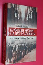 """Mieyek Pemper """" la véritable histoire de la liste de Schindler """""""
