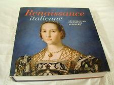 RENAISSANCE ITALIENNE - ARCHITECTURE - SCULPTURE - PEINTURE