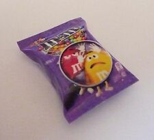 "M&M Chocolate  Purple Pack FRIDGE MAGNET Novelty Indonesia 3D M&M's 1"" Tall"