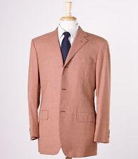 NWT $2695 BELVEST Houndstooth Check Super 140s Wool Sport Coat 40 R Blazer