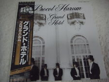 PROCOL HARUM-Grand Hotel JAPAN Press w/OBI Pink Floyd Genesis Renaissance Yes