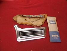 NOS 67 Ford Galaxie 500 XL LTD Front Fender Lower Moulding RH #C7AZ-16C068-A
