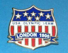 ATLANTA 1996 Olympic Collectible Logo Pin - Team USA London 1908