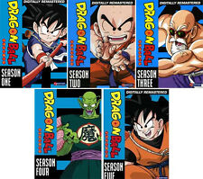 DRAGON BALL COMPLETE SEASON 1, 2, 3, 4 & 5 DVD SET DRAGONBALL Region 4 New Z GT