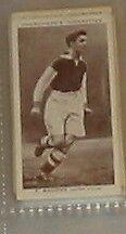 #3 F Broome Aston Villa-CALCIO carte sigaretta