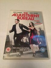 The Adjustment Bureau (DVD, 2011) matt damon, emily blunt, region 2 uk dvd