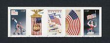 2003 Scott #3776-3780 - 37¢ - Old Glory - Strip of 5 - Mint NH