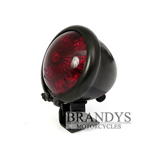 LED Rücklicht Oldschool Bobber Harley Motorrad Bates Style E-geprüft