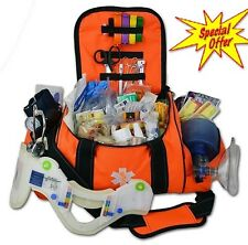 Medical Supplies Aid Kit Trauma Full Large Bag First Emergency EMT EMS Sports