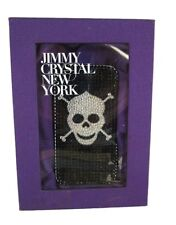 JIMMY CRYSTAL  iPhone 4/4S Silver Rhinestones Case Msrp $175.00   *Original Box*