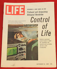 Life Magazine September 10 1965, Vintage Ad Budweiser 2 pages  Index in Photos