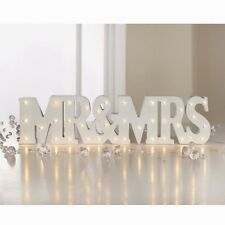 Stylish Happily Ever After Mr & Mrs LED Light Up Words