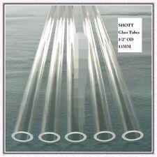 """1/2"""" PYREX TUBING HEAVY WALL, Sight / Gauge Glass, Steam Boiler"""