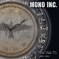 The Clock Ticks On: 2004-14 by Mono Inc. (CD, Aug-2014, 2 Discs, No Cut)