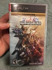 Final Fantasy Tactics The War of the Lions - PSP Black Label - BRAND NEW SEALED