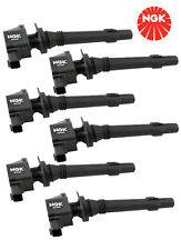 NGK set of 6 Ignition Coils Ford Falcon FG 4.0 6 CYL inc XR6-T 2008 on