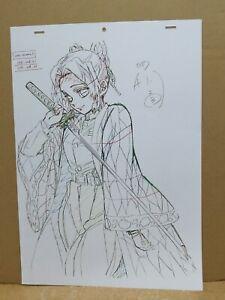 DEMON SLAYER / KIMETSU NO YAIBA ~~ Kocho Shinobu~~ Genga Limited LTD ufotable