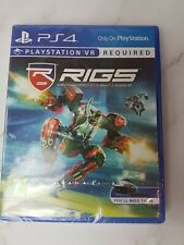 RIGS Mechanized Combat League PS4 VR Brand New and Sealed FAST FREE SHIPMENT