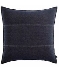 Nautica Seaward Denim European Pillow Sham New