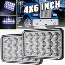 "4x6"" DOT LED Headlight For Kenworth GMC Peterbilt Light Bulbs H4651 H4652 H4656"
