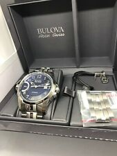Bulova ACCU-SWISS Men's 'Calibrator' Swiss Automatic Steel Casual Watch 63B175