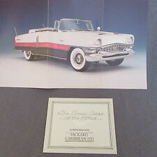 245C Franklin Mint Folding 6 Pages Packard Caribbean