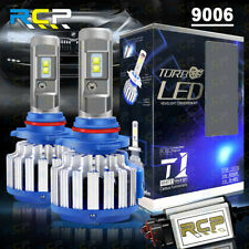 9006 HB4 LED Headlight Conversion Kit 1800W 195000LM High/Low Beam Bulbs 6000K
